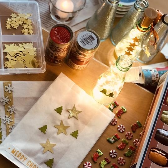 Weihnachtliche Bastelwerkstatt